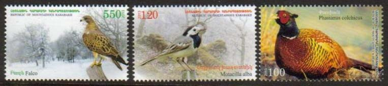 "<Font 1-077>Nagorno Karabakh #77-79, 2013 issue, Birds, A set of 3 stamps<br><a href=""/images/KA-77-79.jpg"">   <font color=green><b>View the image</b></a></font>"